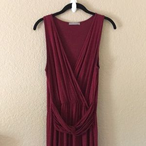Stitch Fix Maroon Maxi Dress